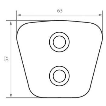 Kevlar Button FB6357