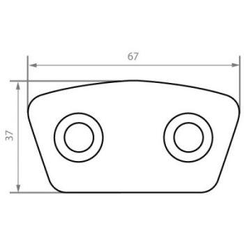 Kevlar Button FB6736