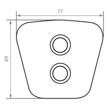 Kevlar Button FB7668