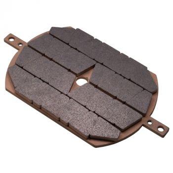ICP SHD Series Sintered Brake Pad (Block Style) Replaces Sime