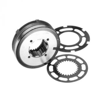 Telcomec Electromagnetic Disc Clutch with Slipring - GLR Series