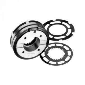 Telcomec Multi Disc Clutch Slip-Ring GLRC Series