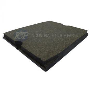 ICP VKS-D Organic Brake Pad Replaces Twiflex 70A0153-9