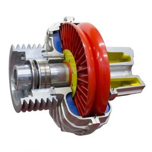 Westcar Rotofluid Coupling DCF