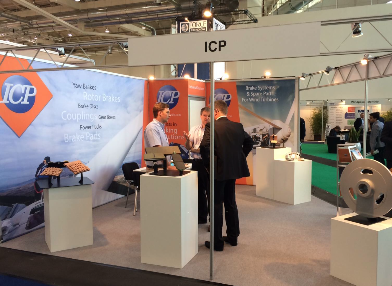 Industrial Clutch Parts – Success At Wind Energy Hamburg 2014