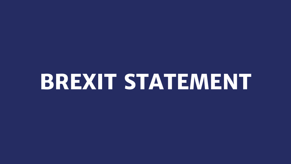 Brexit Statement