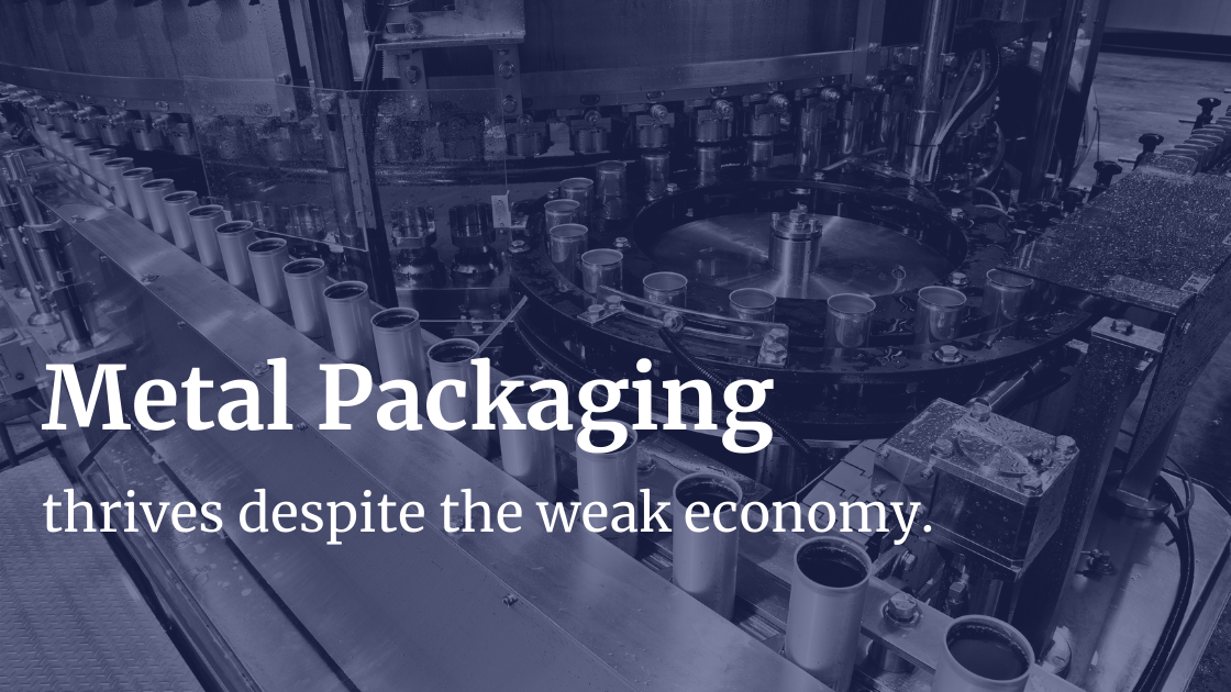 Market Sector - Metal Packaging