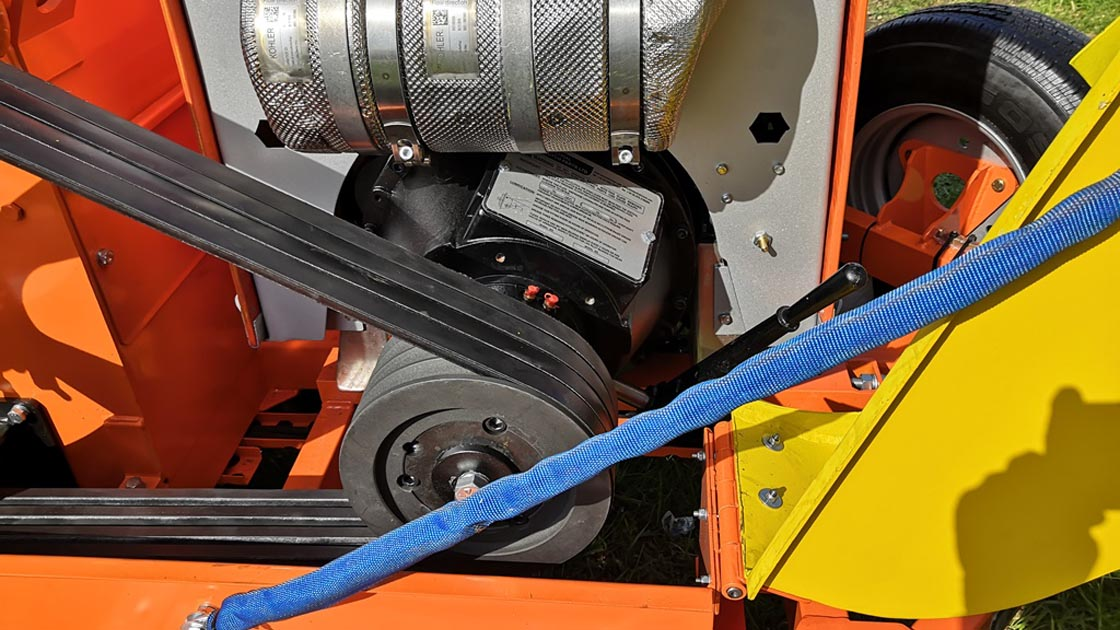 Powering the Most Advanced Wood Chippers.